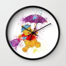Winnie The Poppins Wall Clock