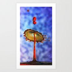 big splash Art Print