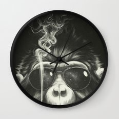 Smoke 'Em If You Got 'Em Wall Clock