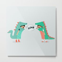 means 'I love you' Metal Print