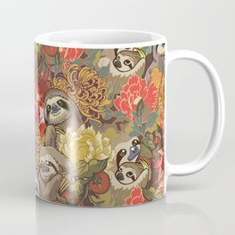 Because Sloths Autumn Coffee Mug