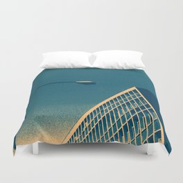 POP architecture  Duvet Cover