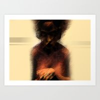 afro Art Prints featuring AFRO by Marian - Claudiu Bortan