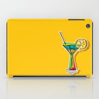 cocktail iPad Cases featuring Cocktail by Rceeh