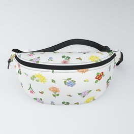 Flourishing Floral Fanny Pack
