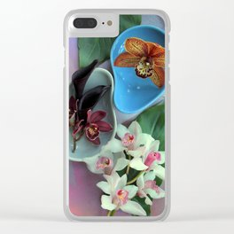 Pieces Of The Puzzle Clear iPhone Case
