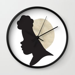 The Poof Wall Clock