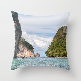 Phang Nga Islets_Thailand Throw Pillow