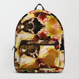 Rare exotic cactus flowers Backpack