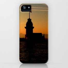 sunset in İstanbul iPhone Case