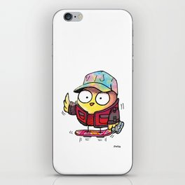 POUSSIN McFLY iPhone Skin