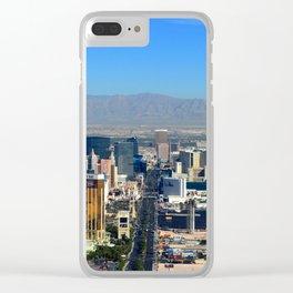 The Strip Las Vegas Clear iPhone Case