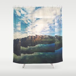 Fractions A55 Shower Curtain