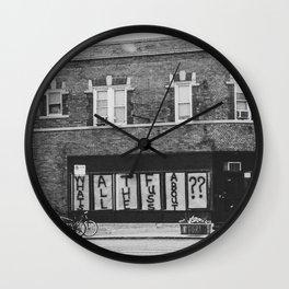 Urban Thoughts Wall Clock