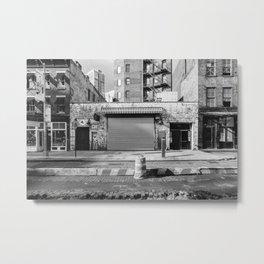 New York City Streets Metal Print
