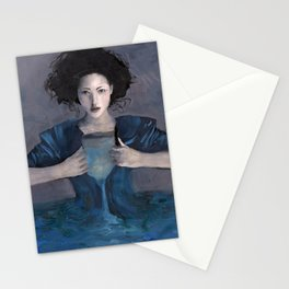 Hurricane Woman Stationery Cards