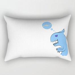 Dino-cat Rectangular Pillow