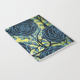 Black and Blue Notebook