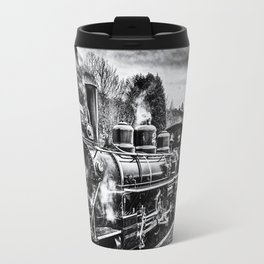 Philadelphia 61269 Black And White Travel Mug