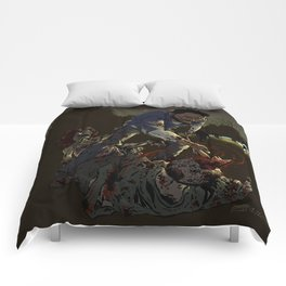 Fighting the undead Comforters