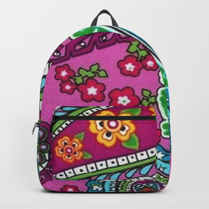 Floral Paisley Pattern 03 Backpack