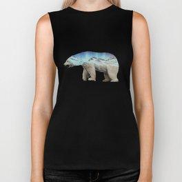 The Arctic Polar Bear Biker Tank