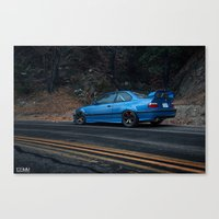 bmw Canvas Prints featuring BMW M3 by 1013MM