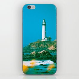 Pacific Coast Highway Lighthouse iPhone Skin