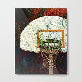 Basketball vs 13 Metal Print