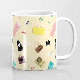 Moonrise Kingdom's Suzy Bishop Pattern Coffee Mug