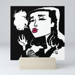 Queen of Winter Mini Art Print