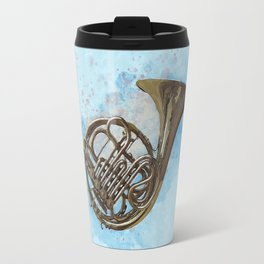 French Horn Travel Mug