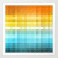 Pixel 4 Art Print