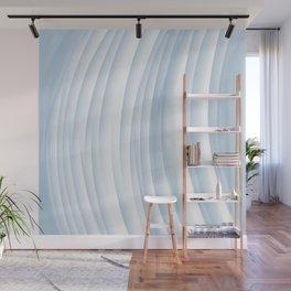 Fanned blue Wall Mural