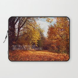 lost in the woods Laptop Sleeve
