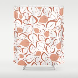 Valentia Leaves Shower Curtain