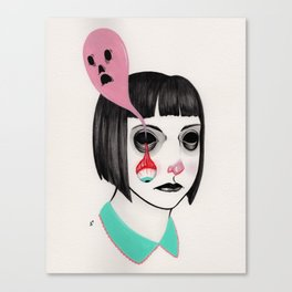 haunted socket Canvas Print