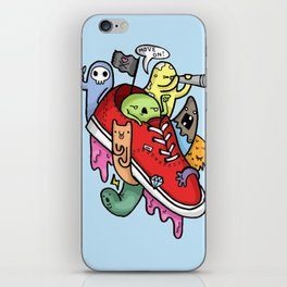 shoe pirates iPhone Skin