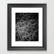 arcade (monochrome series) Framed Art Print
