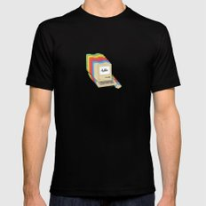 Macintosh Cascade Black MEDIUM Mens Fitted Tee