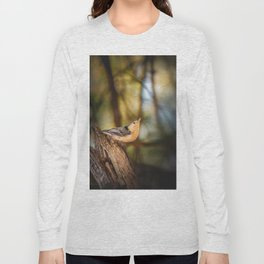 Northern Nuthatch Long Sleeve T-shirt
