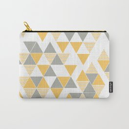 Abstract Triangles Carry-All Pouch