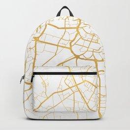 MANCHESTER ENGLAND CITY STREET MAP ART Backpack