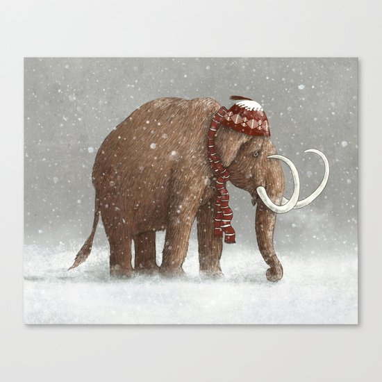 The Ice Age Sucked Canvas Print