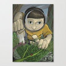 Moss Creature Canvas Print