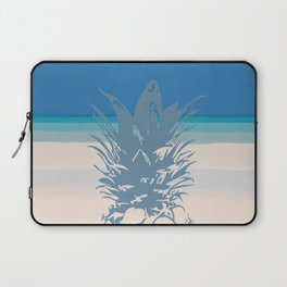 Pineapple Tropical Beach Design Laptop Sleeve