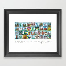 Barcelona anno 1 Framed Art Print