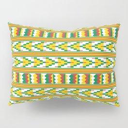 Afro Kente Cloth 4 Pillow Sham