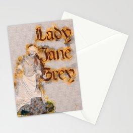 Lady Jane Grey artwork Stationery Cards