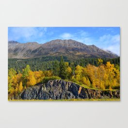 Fall - Turnagain Arm Alaska Canvas Print